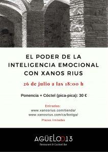 El poder de la inteligencia emocional con Xanos Rius en Agüelo013