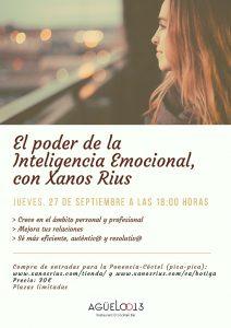 El poder de la inteligencia emocional con Xanos Rius en Agüelo013 @ El Agüelo013