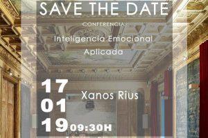 SAVE THE DATE - Ponencia de Inteligencia Emocional Aplicada de Xanos Rius @ Fábrica Moritz - Sala Louis